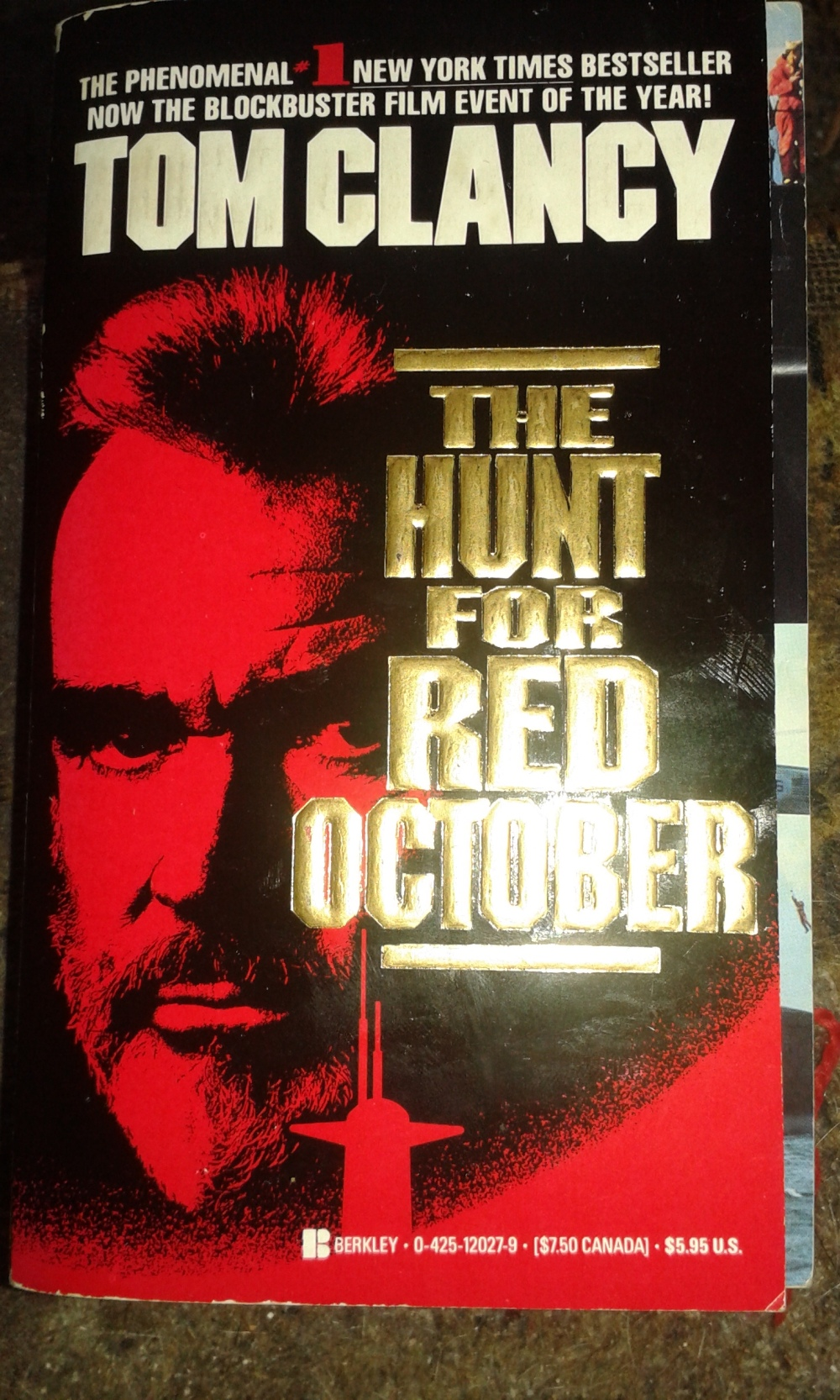 All The Right Words – The Hunt For Red October By Tom Clancy